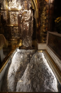 The spot of Jesus's Crucifiction