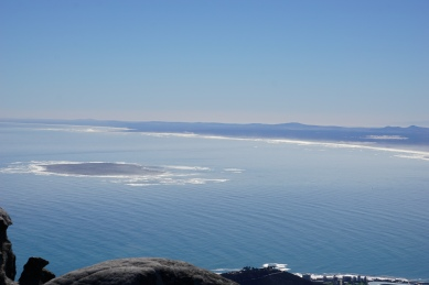 A view of Robbens Island