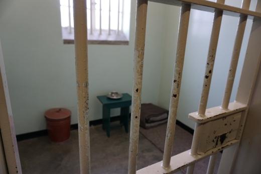 Mandela/s prison cell