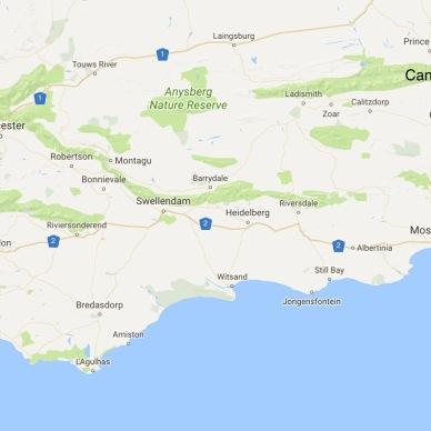 Knysna to Cango Caves