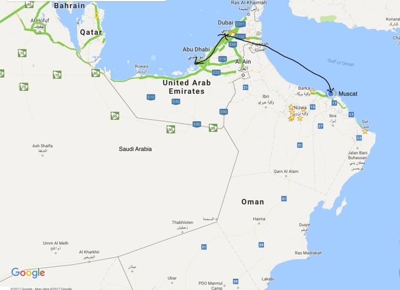 Dubai Muscat