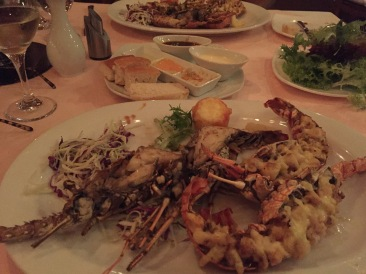 Yum..lobster dinner