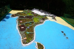 Garden map of India