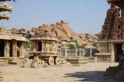 Garuda Stone Chariot and Vitthala Temple