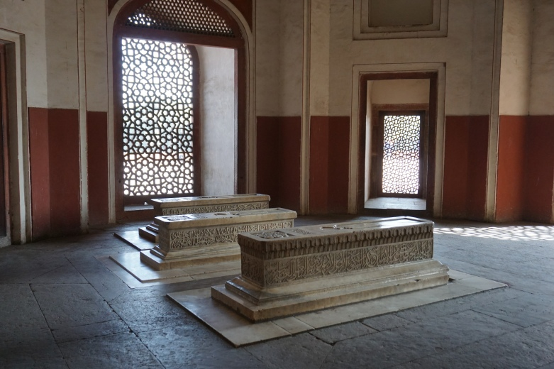 His friends tombs?
