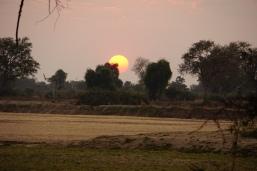 Typical sunrise